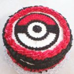 "8"" round Pokeman Themed Cake"