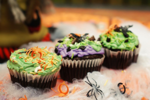 Spooky Cupcakes (regular size cupcakes)