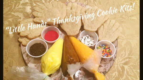 Little Turkey Cookie Decorating Kit