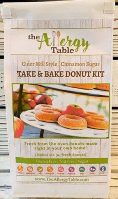 Take & Bake Cider Mill Style Donut Kits