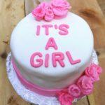 """6"""" Fondant Babyshower Cake"""