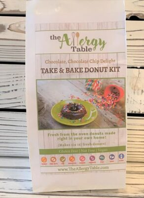 Take & Bake Chocolate Chip Donut Kit
