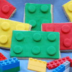 Lego Theme Sugar Cookies