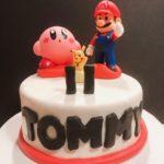 Mario Cart Round Cake