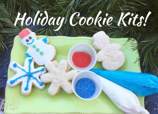 Holiday Cheer Cookie Decorating Kit or Classroom Cookie Decorating Kits