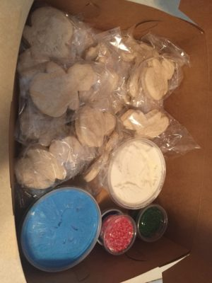 Classroom Cookie Decorating Kits