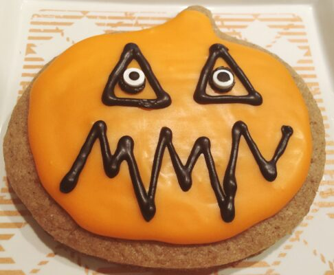 Pumpkin Shaped Predecorated Sugar Cookies