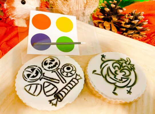 Paint Your Own Halloween Sugar Cookie
